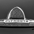 49 Plymouth Emblem by David Lee Thompson