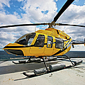 A Bell 407 Utility Helicopter by Terry Moore