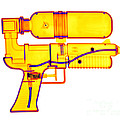 An X-ray Of A Squirt Gun by Ted Kinsman