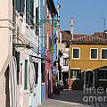 Burano Island. Venice by Bernard Jaubert