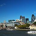 City Of London Skyline by Chris Day