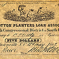 Confederate Banknote by Granger