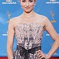 Dianna Agron Wearing A Carolina Herrera by Everett