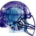 Football Helmet, X-ray by Ted Kinsman