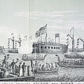 Fulton Steam Frigate, 1814 by Granger