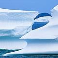Icebergs, Canada by David Nunuk