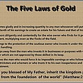 5 Laws Of Gold by Ricky Jarnagin