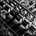 Lloyd's Building London Abstract  by David Pyatt