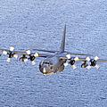 Mc-130p Combat Shadow In Flight by Gert Kromhout