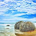 Moeraki Boulders by MotHaiBaPhoto Prints