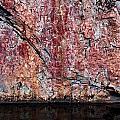 Painted Rocks At Hossa With Stone Age Paintings by Jouko Lehto