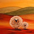 Sheep by Elizabeth Barrett