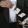 Shuffling Cards by Ted Kinsman