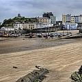 Tenby Harbour From North Beach by Steve Purnell