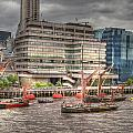 Thames Barges Tower Bridge 2012 by David French