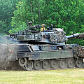 The Leopard 1a5 Main Battle Tank by Luc De Jaeger