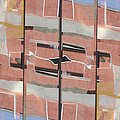 Urban Abstract San Diego by Carol Leigh