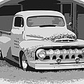 51 Ford Pickup  by Steve McKinzie
