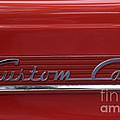 56 Ford F100 Custom Cab by Gwyn Newcombe