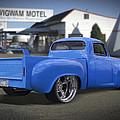 56 Studebaker At The Wigwam Motel by Mike McGlothlen