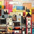 57th  Street Kaleidoscope by Robert Handler
