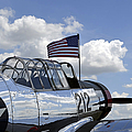 A Bt-13 Valiant Trainer Aircraft by Stocktrek Images
