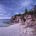 Georgian Bay Cliffs At Sunset by Oleksiy Maksymenko