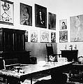 Gertrude Stein (1874-1946) by Granger