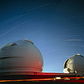 Keck I And II Observatories On Mauna Kea, Hawaii by David Nunuk