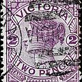 old Australian postage stamp by James Hill