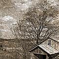 Rustic Hillside Barn by John Stephens