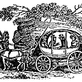Stagecoach, 19th Century by Granger