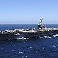 The Nimitz-class Aircraft Carrier Uss by Stocktrek Images
