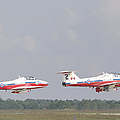 The Snowbirds 431 Air Demonstration by Terry Moore