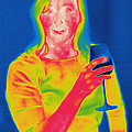 Thermogram Of A Woman by Ted Kinsman