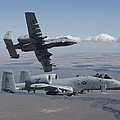 Two A-10 Thunderbolts Fly by HIGH-G Productions