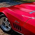 69 Red Detail by Douglas Pittman