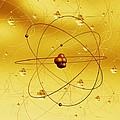 Atomic Structure, Artwork by Mehau Kulyk