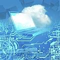 Cloud Computing, Conceptual Artwork by Victor Habbick Visions