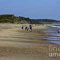 Dunwich Beach Suffolk. by Darren Burroughs