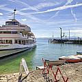 Lake Constance Meersburg by Joana Kruse