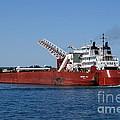 Presque Isle Ship by Lori Tordsen