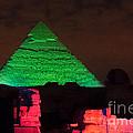 Pyramids Of Giza by Carol Ailles