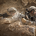 U.s. Army Rangers In Afghanistan Combat by Tom Weber