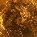 Venus, Synthetic Aperture Radar Map by Detlev Van Ravenswaay