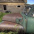 Vintage Farm Trucks by Mark Duffy