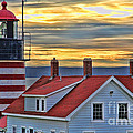 West Quoddy Head Lighthouse 3822 by Jack Schultz