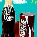 70's Coke by Paul Van Scott