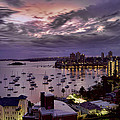 7th Floor View Macleay Street Potts Point Sydney Early Morning by Douglas Barnard