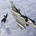 Dassault Rafale B Of The French Air by Gert Kromhout